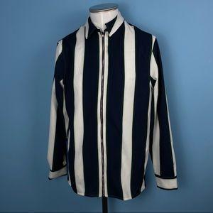 Pinstripe Coat | Zara